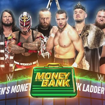 6 Men Battle for Chance to Fall Off Roof at WWE Money in the Bank
