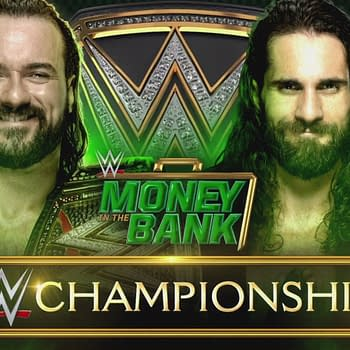 WWE Champion Drew McIntyre vs Seth Rollins at WWE Money in the Bank