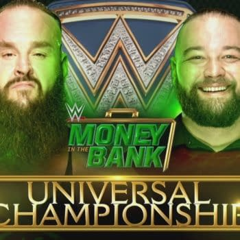 Bray Wyatt faces Braun Strowman for the Universal Championship at WWE Money in the Bank
