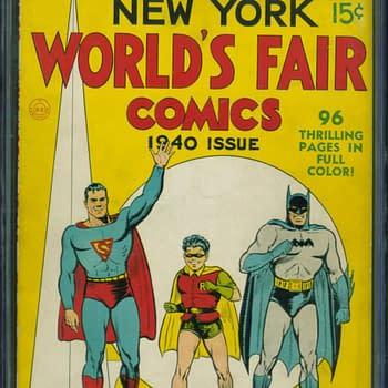 New York World's Fair 1940, DC Comics.