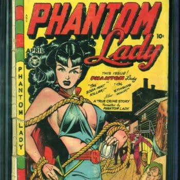 Get a Piece of Good Girl Art History with Phantom Lady #17!