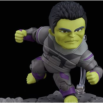The Hulk Was Built for This With New Figure From Good Smile Company