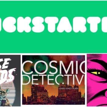 Three New Comics Projects On Kickstarter