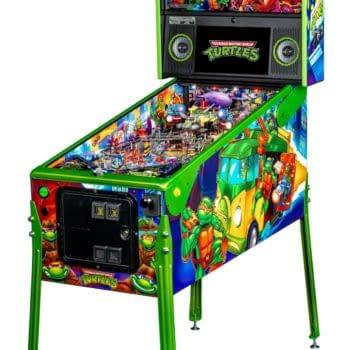 Stern Pinball's new TMNT Machine Will Make You Say 'Cowabunga'!