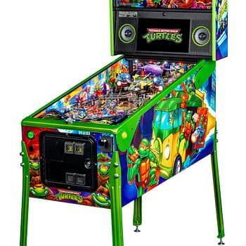 Stern Pinballs New TMNT Machines Will Make You Say Cowabunga