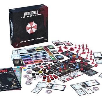 Resident Evil 3 Board Game On Its Last 2 Kickstarter Backing Days