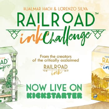 Railroad Ink Challenge Chugs Along On Kickstarter