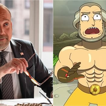 Watch Billions Star Paul Giamatti Meet His Rick and Morty Character