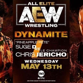 Pineapple Pete will finally get his hands on Chris Jericho on this week's AEW Dynamite.