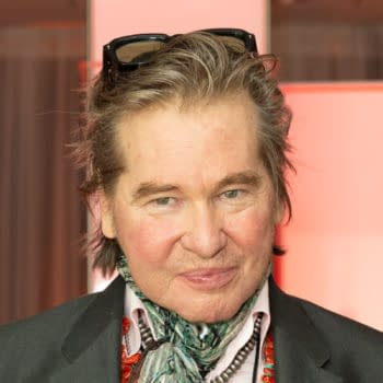 New York, NY - July 20, 2019: Val Kilmer attends NOVUS Summit SDG Moonshots at United Nations Headquarters. Editorial credit: lev radin / Shutterstock.com