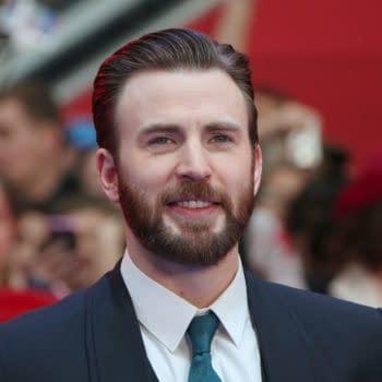 Chris Evans attends the European film premiere of 'Captain America: Civil War' at Vue Westfield on April 26, 2016 in London, England. Editorial credit: BAKOUNINE / Shutterstock.com