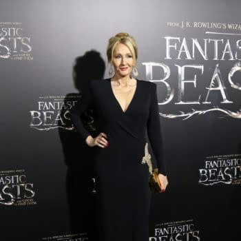"""J.K. Rowling attends the premiere """"Fantastic Beasts And Where To Find Them"""" at Alice Tully Hall on November 10, 2016, in New York City. Editorial credit: JStone / Shutterstock.com"""
