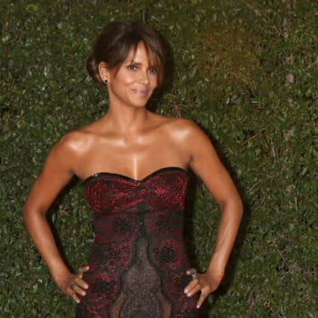 Halle Berry at the 49th NAACP Image Awards - Arrivals at Pasadena Civic Center on January 15, 2018 in Pasadena, CA. Editorial credit: Kathy Hutchins / Shutterstock.com