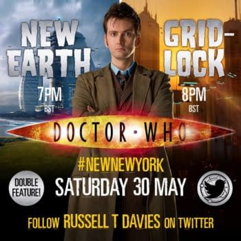 """Russell T. Davies to Join Penultimate """"Doctor Who"""" Rewatch"""