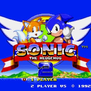 Sega created a redesigned Sonic logo encouraging social distancing.