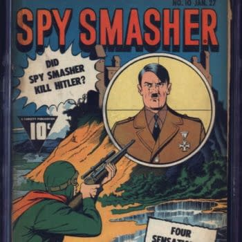 Check out Spy Smasher #10 on This Weeks ComicConnect Event Auction