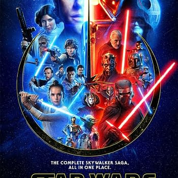 Star Wars Poster Celebrating The Saga Release On Disney+ Revealed