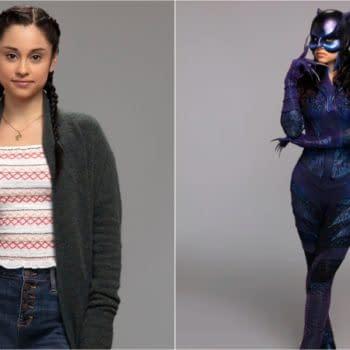 Yvette Monreal as Yolanda Montez aka Wildcat on Stargirl, courtesy of The CW.