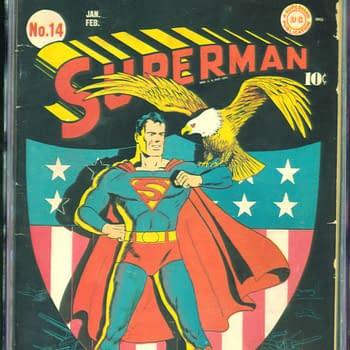 Superman 14, Jan/Feb 1942, DC Comics.