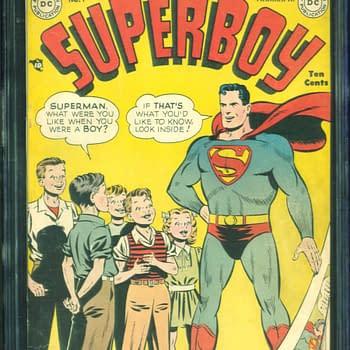 Superboy #1, Mar/Apr 1949, DC Comics.