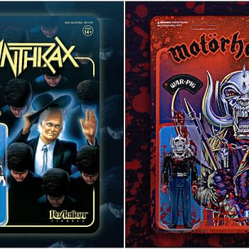 Super7 Debuts New ReAction Figures From Bands Anthrax and Motorhead