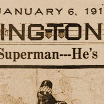 The Superman--He's Here, The Washington Times, 06 Jan 1918, via newspapers.com.
