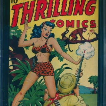 Own a Schomburg Finest in Thrilling Comics #60 from ComicConnect!