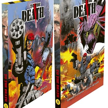 Slipcases For Simon Furman and Geoff Seniors To The Death