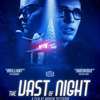 New Poster For Amazon Sci-Fi Film The Vast of Night Debuts