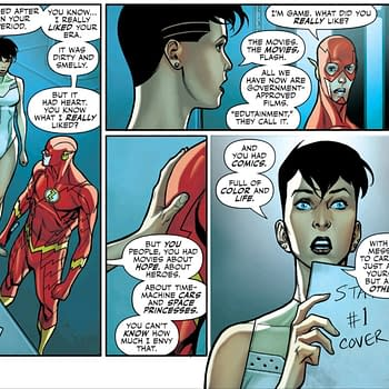Flash Giant #4 Has a Rather Bland View of Todays Comics