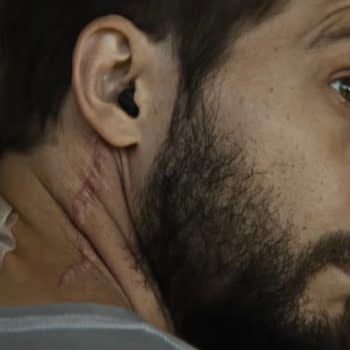 A scene from Upgrade, courtesy of Blumhouse.