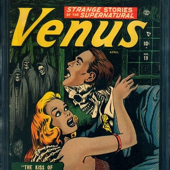 Venus #19 is the Pre-Code Horror You Need Only from ComicConnect