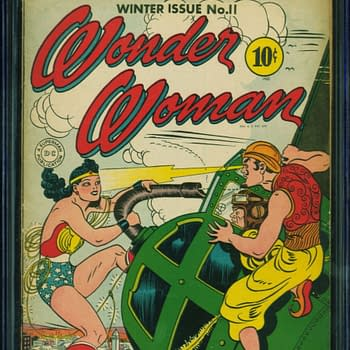 Wonder Woman 11, Winter 1944, DC Comics.