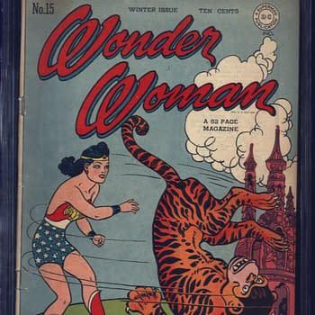 Wonder Woman 15, Winter 1945, DC Comics.