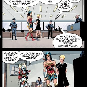 When Wonder Woman Gets Mistaken as a Cosplayer
