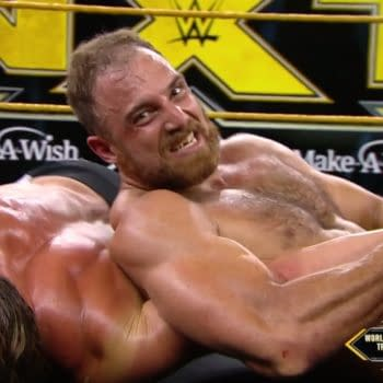NXT scored a spiritual victory this week, if not a ratings victory (courtesy of WWE).