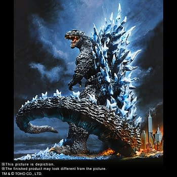Godzilla is Ready for the Final Wars with New Statue from X-Plus