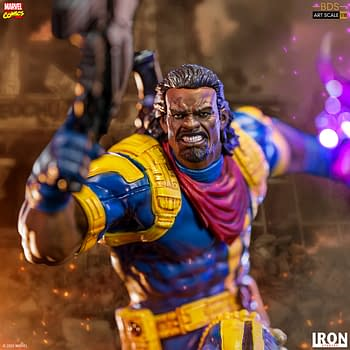 Bishop Arrives from the Future in the Newest X-Men Iron Studios Statue