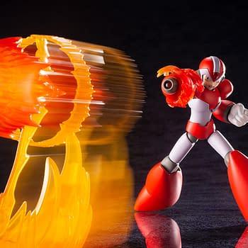 Mega Man Levels Up With Rising Fire from Kotobukiya