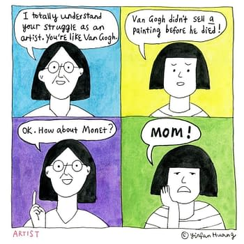 Yellow Singing Sail, a New Graphic Memoir by Yinfan Huang
