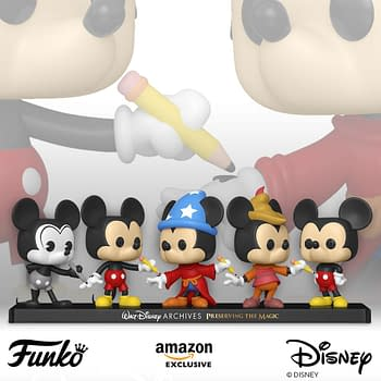 Funko Celebrates Mickey Mouse with Exclusive 5-Pack