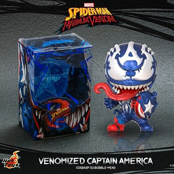 Venomized Marvel Heroes Get New Cosbaby Figures from Hot Toys
