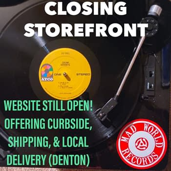 The Comic Store Taking Over a Closing-Down Record Store in Texas