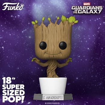Groot Stands Tall With New 18 Inch Marvel Funko Pop