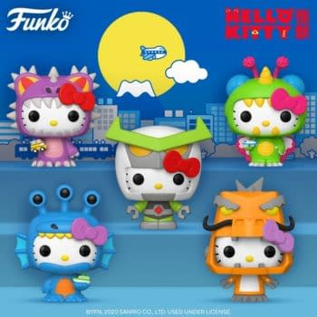 Hello Kitty Gets a Kaiju Makeover With Upcoming Funko Pops