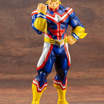 My Hero Academia All Might Gets ARTFX J Statue with Kotobukiya