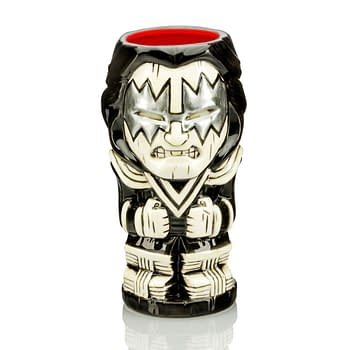 KISS Geeki Tikis From Beeline Creative Want To Rock and Roll All Night