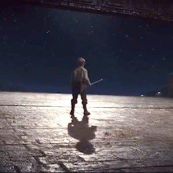 "Star Wars The Last Jedi ""Broom Boy"" Shoots His Shot On Returning"