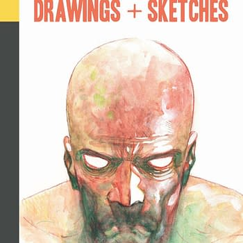 Charlie Adlard Drawing + Sketches Published in the UK This Month