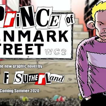 The 1970s Punk London Hamlet Graphic Novel Created During Lockdown